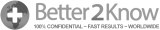 Better 2 Know logo