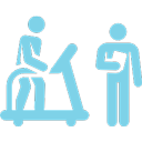 Physical examination with a doctor